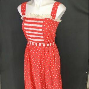 Vtg & NWT PRINCESS KAIULANI Hawaiian Long Dress